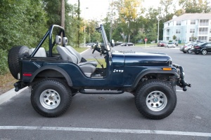 Jeep without top