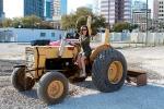 Sidewalk plowing
