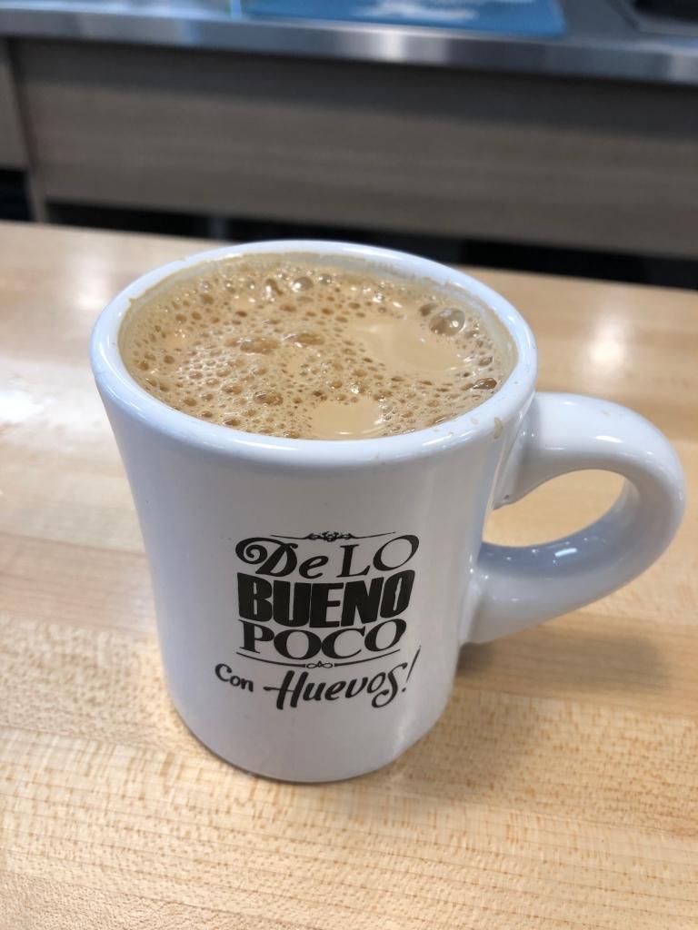 Cuban Coffee at Con-Huevos