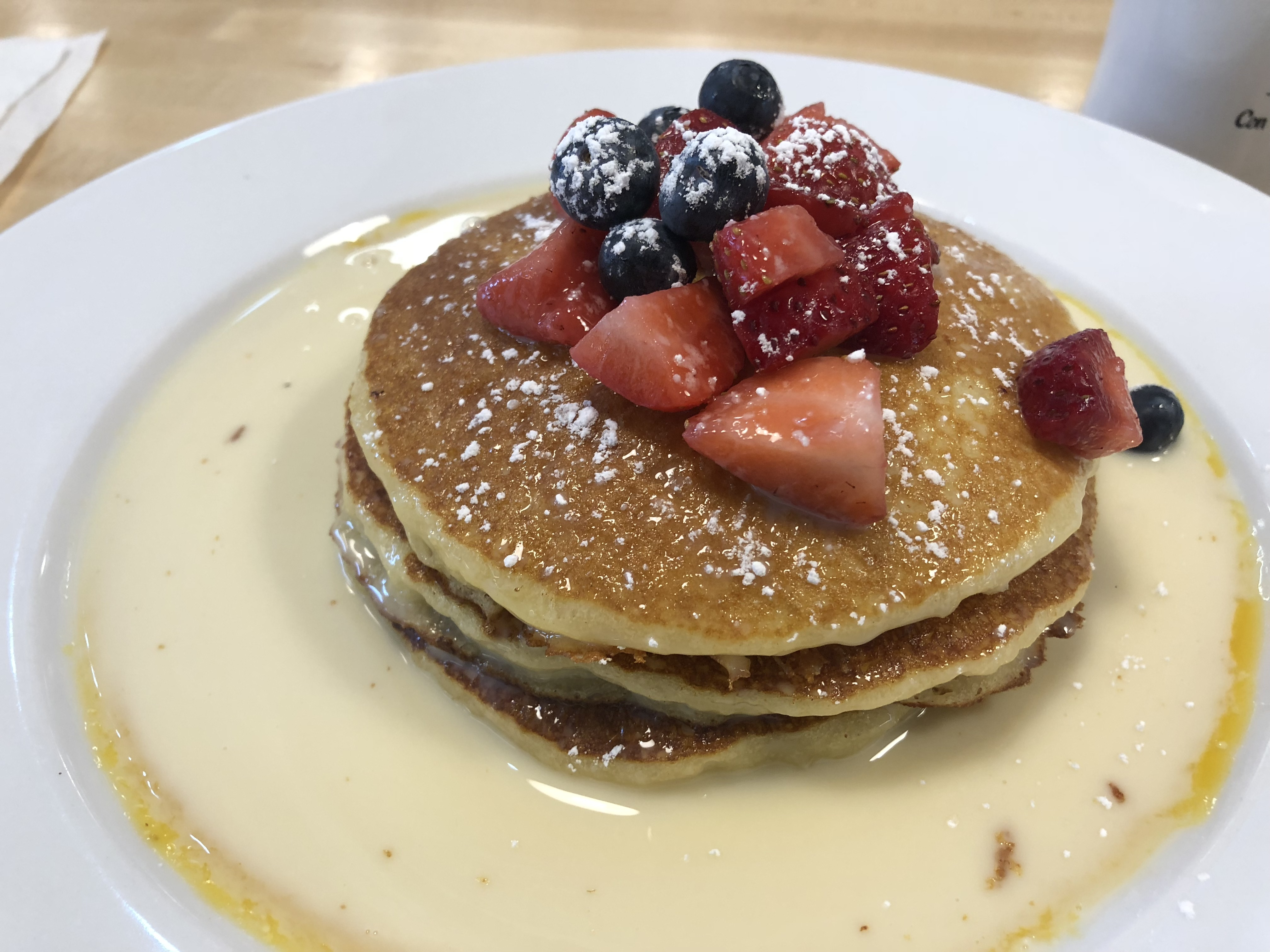 Pancakes @ Cuban Coffee at Con-Huevos in Louisville, KY