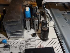 blown capicators in lnt4065fx