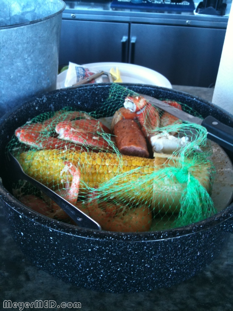Joes Crab Shack - Classic crab bowl