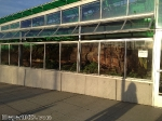 Neukom Vivarium greenhouse side